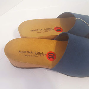 8efeb37629 Marina Luna Shoes - Marina Luna Comfort Wedge Women's Sandals Size 10